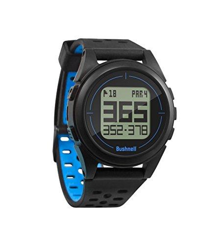 Bushnell ION 2-Black/Blue GPS de Golf, Noir/Bleu, Taille Unique