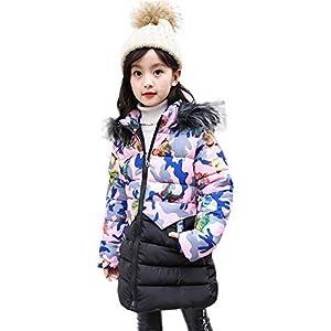 Proumy ◕ˇ∀ˇ◕Kleinkind Kleidung Kinder Jungen Mädchen Winter Warm Daunenjacke Baumwolljacke Baby Jacke Kinder Mantel Kinder Bekleidung
