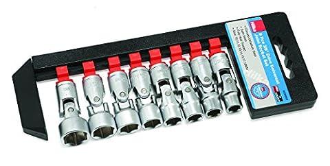 """Hilka 02280802 Coffret à douilles universelles 3/8"""" (9,5mm)"""