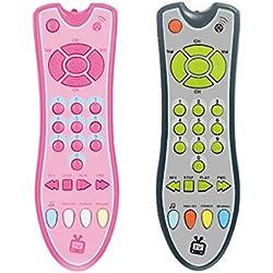 MYA Bébé Musique TV Mobile Téléphone Télécommande Électrique Numéros d'apprentissage Éducatifs Enfants Jouet Cadeau