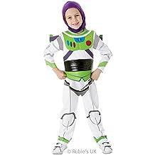 Toy Story Buzz Lightytear Kids Fancy Dress Small DELUXE (disfraz)