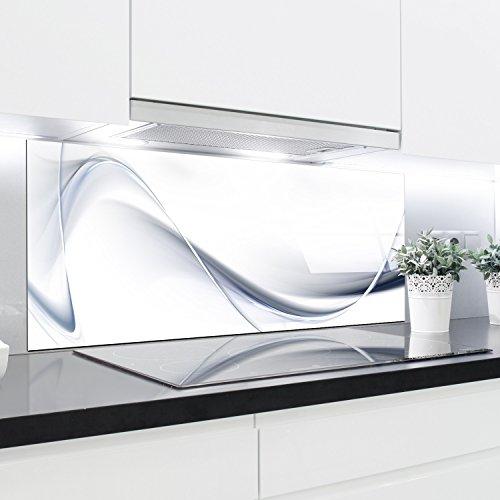 Küche Glas Splashback bedruckten Platten hitzebeständig gehärtetes Glas 125x 50cm
