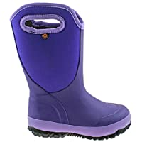 BOGS Girls Slushie Solid Violet Insulated Warm Wellies Boot 78584 531-UK 11 (EU 29)