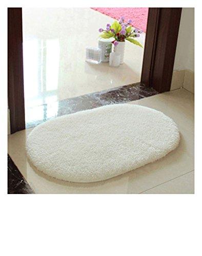 Bagno Bagno Camera Piano doccia zona Mat tappeto antiscivolo stuoie ovali - Ovale Mat