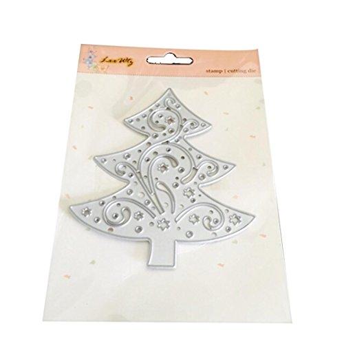 n Halloween Exquisite Papier Decor Formen Schablone Scrapbooking DIY Handarbeit, silberfarben, L (Halloween-papier-taschen, Handwerk)