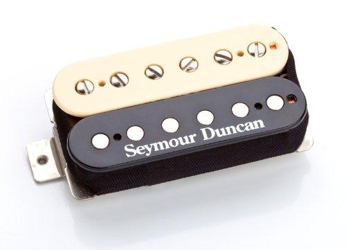 Seymour Duncan SSH-PG 1N ZEB Pearly Gates, Neck zebra (Cover Seymour Duncan Nickel)