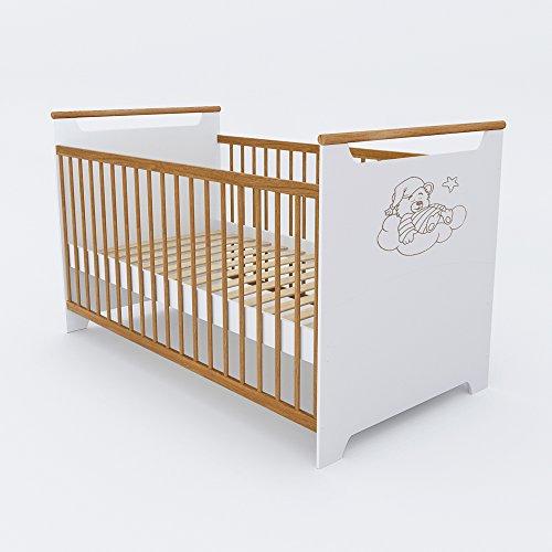 Preisvergleich Produktbild VICCO Babybett Kinderbett Gitterbett Beistellbett Juniorbett Jugendbett Bett 140x70 cm