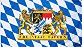 Bayern Freistaat Flagge Fahne 90 * 150 cm