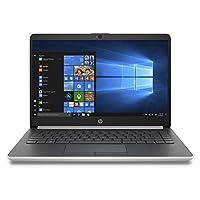 HP 14-cf1000ne Laptop, Intel Core i5-8265U, 14 Inch, 1TB, 8GB RAM, AMD Radeon 530, Win 10, Eng-Ara KB, Silver