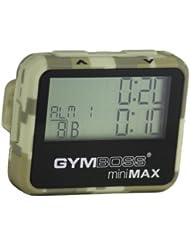 Gymboss miniMAX Minuteur d'intervalle et chronomètre – CAMOUFLAGE / SOFTCOAT TAN