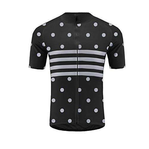 Uglyfrog 2018 Neu Sommer Herren Men's Cycling Jersey Männer Radfahren Short Sleeve Mit Trikots & Shirts Atmungsaktiv Mode Bunt Sport Top (Männer-hockey-jersey)