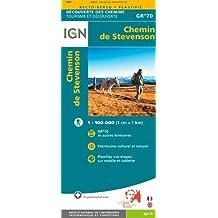 Chemin de Stevenson GR70 IGN 2016: IGN89023