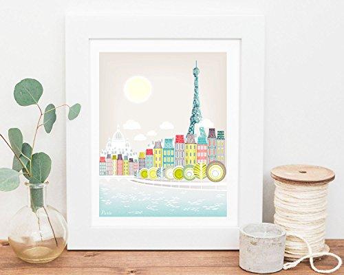 impression-paris-tour-eiffel-art-francais-france-seine-art-art-ponts-de-mur-pour-les-enfants-a-la-ma