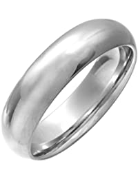 Theia Cobalt Court Shape Highly Polished Wedding Ring for Men or Women