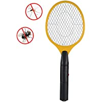 OurLeeme Trois Couches Bug moustiquaire Insecticide Zapper Tapette Batterie pour Home Office Powered Camping, Jaune