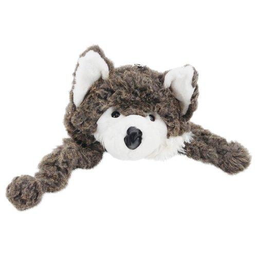 Tiermütze, Mütze, Wintermütze, Kopfbedeckung, Kostüm, Grau (Wolf Kostüm Hut)