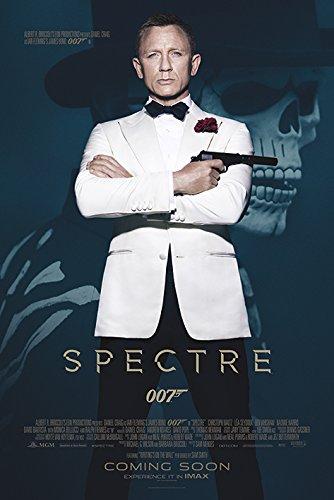 James Bond PP33711 ((Spectre - Skull) Maxi Poster, Bois Dense, Multicolore, 61 x 91,5 cm
