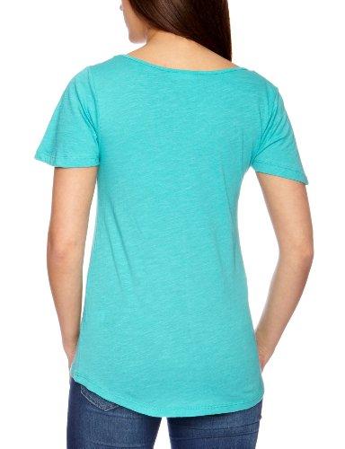 Animal - T-Shirt - Femme Bleu (Blue Caracao)