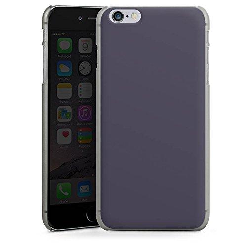 Apple iPhone X Silikon Hülle Case Schutzhülle Dunkelgrau Grau Grey Hard Case anthrazit-klar