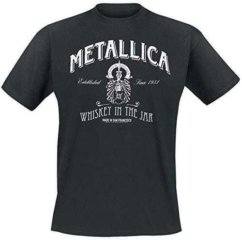 Metallica Whiskey In The Jar T-Shirt schwarz L
