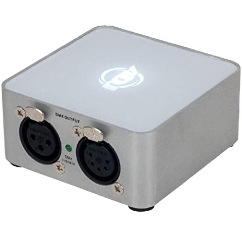 ADJ MyDMX 2.0DMX 512DMX Channels, Mini Usb Midi Controller with SSL2Editor DMX Software/XLR Output, Drag and Drop Pattern Generator