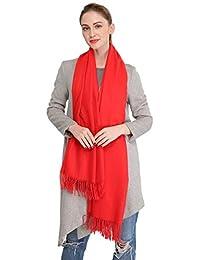 Longwu Cachemire Wrap Stole pour les femmes hiver très grands hommes  Echarpe Pashmina en laine d 05205011200