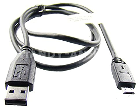 caseroxx Câble de données Samsung-fiche pour Samsung SGH-F400 , câble USB pour la recharge ou le transfert de données, connexion facile avec PC, ordinateur portable & autres appareils, 1 pièce