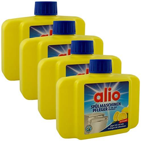 4 x 250 ml Spülmaschinen Reiniger 1000 ml Maschinen Pfleger Spülmaschinenpfleger (4x 250ml Zitrone)