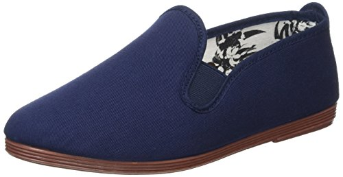 Flossy Damen Arnedo Espadrilles Blue (Navy Canvas - 102)