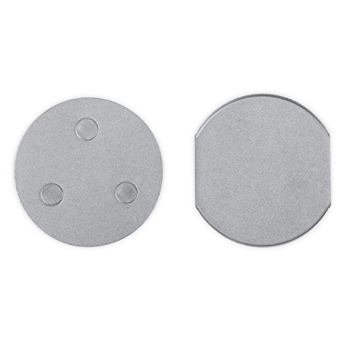 Smartwares Magnetbefestigung für Rauchmelder, RMAG4,Silber
