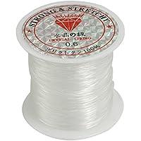 Sedal - SODIAL(R)53Lbs 0.6mm Transparente claro Linea de pesca de nylon Sedal Cable de pesca