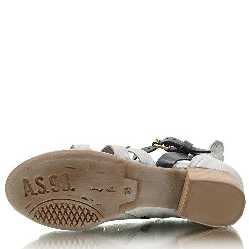 A.S.98 Airstep Tofy 908002-0101 Damen Sandale roccia/nero