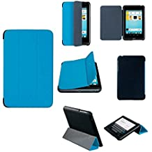"""Original Trekstor Design tolino tab 7"""" Flex-Case Schutzhülle Tablet Tasche mit Standfunktion Blau/Schwarz"""