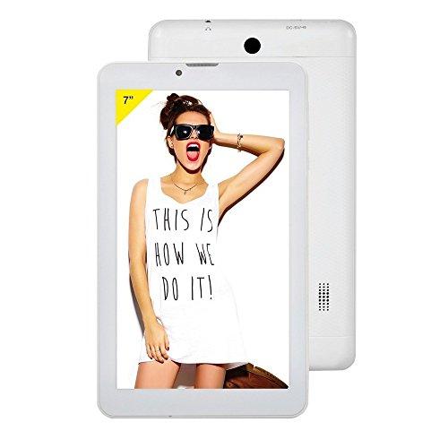 """Majestic TAB 527 3G - Tablet 7"""" 3G e WI-FI, quad core, memoria 4G espandibile, bluetooth, doppia camera, android 4.4, Bianco"""