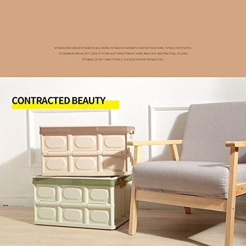 Yaoaomon Professionelle Mehrzweck Kofferraum Kofferraum Tasche Box ordentlich Heavy Duty Organizer grün -