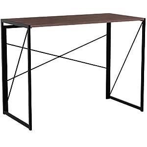 Coavas Schreibtisch Arbeitstisch Computertisch Klappbar Konferenztisch Büro Keine Montage PC Tisch Industrial Style…