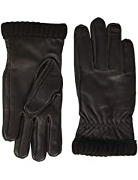 JACK & JONES Jacjace Leather Gloves Guanti Uomo