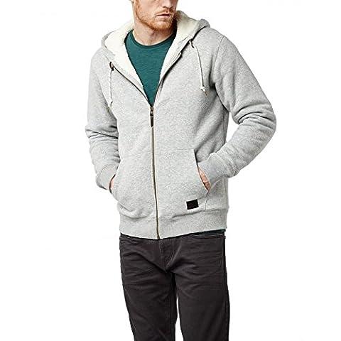 O'Neill Men's LM Jack Base Sherpa Sports Hoodie, Grey,