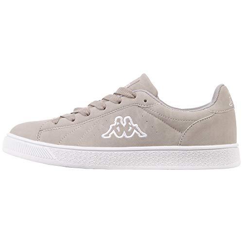Kappa Unisex-Erwachsene Meseta Sneaker, Grau (L´Grey/White 1410), 38 EU