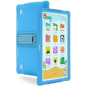 Tablet Para Niños,SANNUO 10.1 Pulgadas Tablet Infantil (3G,Android 6.0, Quad-Core,1+16GB, Doble Cámara, Google Play, Juegos Educativos)
