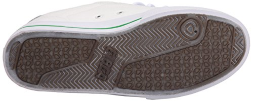 C1RCA  Lopez  50, Sneakers basses mixte adulte White/Green/Gum