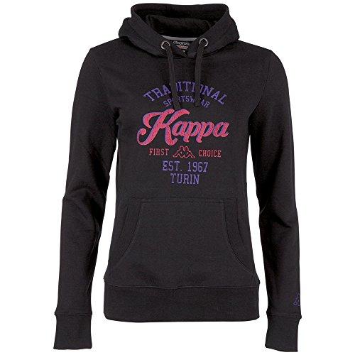 Kappa Damen Ava Sweatshirt, 005 Black, S Preisvergleich
