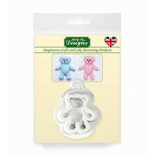 Baby Teddy Bear Silicone Mould for Cake Decorating, Cupcakes, Sugarcraft, Candies and Clay, Food Safe (Teddy Bär Form)