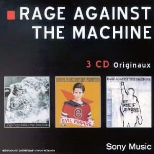 Coffret 3 CD : Rage Against The Machine / Evil Empire / The Battle Of Los Angeles