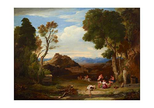 Spiffing Prints Charles Lock - Eastlake Classical Landscape d'occasion  Livré partout en Belgique
