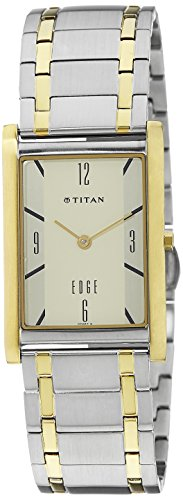 41RTBRpU8BL - Titan 1043BM01 Edge Off for Men watch