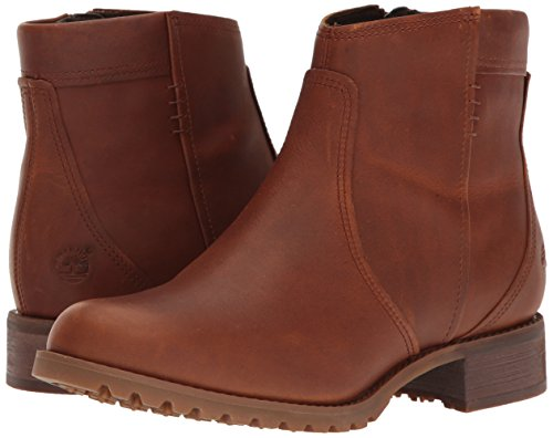 Timberland Women s Banfield Side Zip WP Ankle Boot  Wheat Forty  5 5 M US