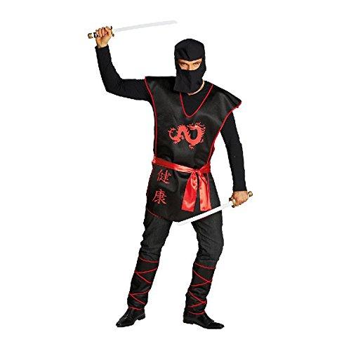 Rubie's Ninja Krieger Herren Kostüm zu Karneval Fasching ()