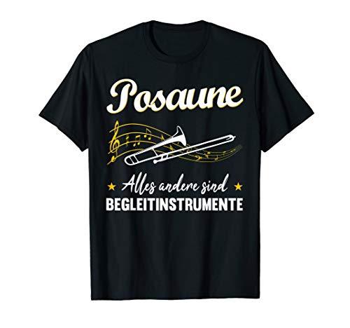 Musiker Posaune Shirt   Musikinstrument Geschenk T-Shirt