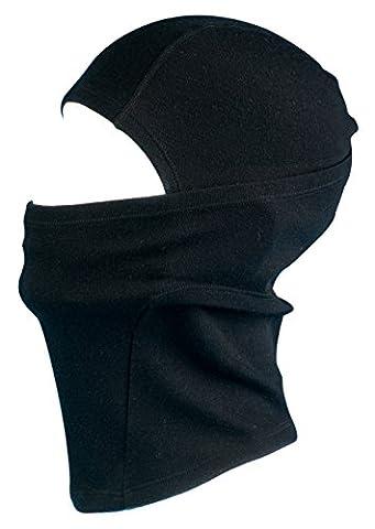 100% Merino Wool Balaclava from AdventureAustria. Fine Knit Thermal Face